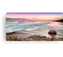 The Colors Of Sunset Canvas Print