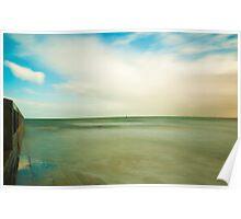 Elwood Pier / beach Poster