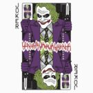 Joker - playing card by MrWhaite
