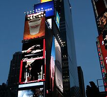 Times Square by Denzil