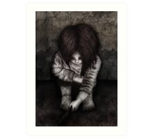 Alone... Art Print
