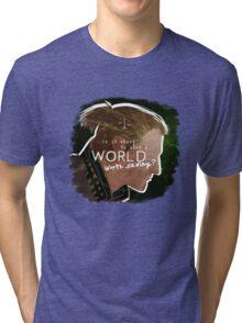Anders - A World Worth Saving Tri-blend T-Shirt