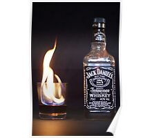 Flaming JD  Poster