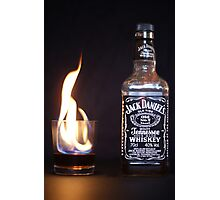 Flaming JD  Photographic Print