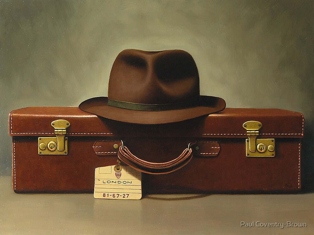 Leaving on a jet plane by Paul Coventry-Brown