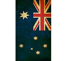 Vintage Australia Flag Photographic Print