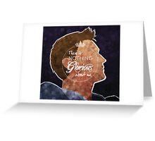 Alistair - Nothing Glorious Greeting Card