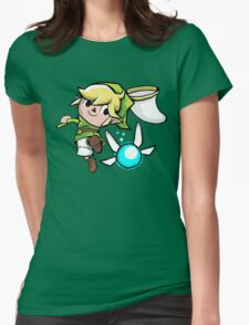 A Link Between Towns Womens Fitted T-Shirt