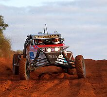Car 105 - Finke 2011 Day 1 by Centralian Images
