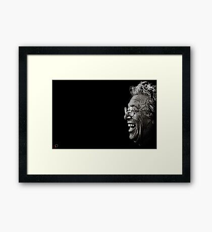 Faces of Venice - The Comedic Philosopher Framed Print