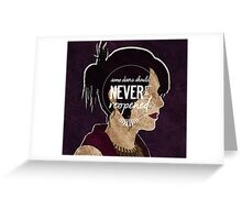Morrigan - Some Doors Should Never Be Reopened Greeting Card