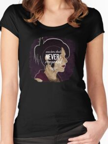 Morrigan - Some Doors Should Never Be Reopened Women's Fitted Scoop T-Shirt