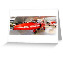 Red 3 Cosford  Greeting Card