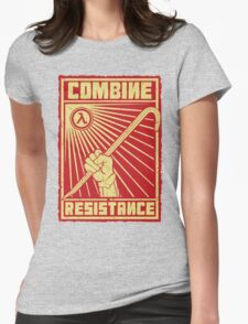 Combine Resistance Womens Fitted T-Shirt