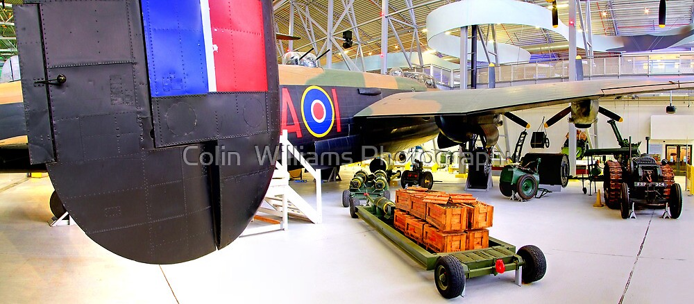 Lancaster - Duxford  by Colin  Williams Photography
