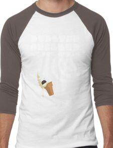Dubstep Spilled My Icecream - Vanilla Men's Baseball ¾ T-Shirt