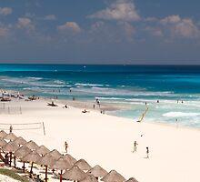 cancun beach by milena boeva