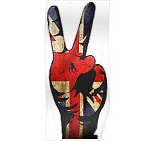 British hand Poster