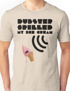 Dubstep Spilled My Icecream - strawberry Unisex T-Shirt