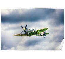 Supermarine Spitfire Mk LF IXe MK356 Poster