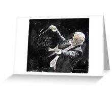Maestro Greeting Card