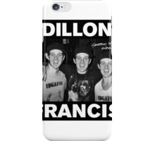 Dillon Francis x3 iPhone Case/Skin