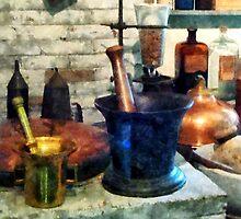 Three Mortar and Pestles by Susan Savad