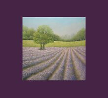 Mayfield Lavender in Bloom, Carshalton, Surrey Womens Fitted T-Shirt