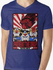 Prevent the Drop Mens V-Neck T-Shirt