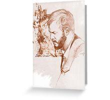 Bon Iver / Justin Vernon Greeting Card