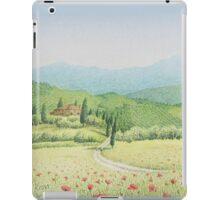 Tuscan Vineyard, Tuscany, Italy iPad Case/Skin