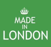 Made In London Kids Tee
