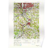 USGS Topo Map Oregon Oregon City 282775 1939 62500 Poster