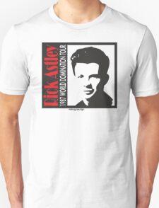 RICK ASTLEY - 1987 WORLD DOMINATION TOUR T-Shirt