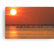 Point Lookout at Sunset Canvas Print