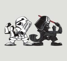 Fighting Empire - Fighting Irish Mashup with Stormtrooper and Vader | Unisex T-Shirt
