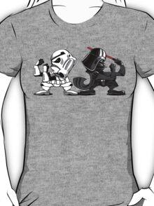 Fighting Empire - Fighting Irish Mashup with Stormtrooper and Vader T-Shirt