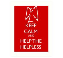 Help the helpless Art Print