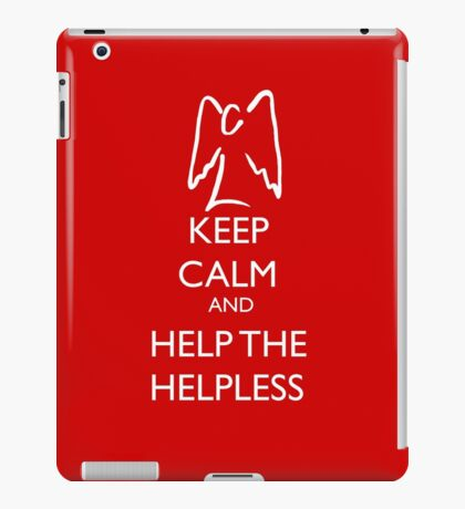 Help the helpless iPad Case/Skin