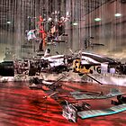 Mercedes GP Exploded - HDR by Colin  Williams Photography