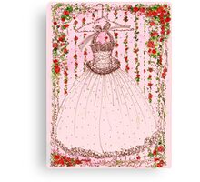 A Gown for Dancing Canvas Print
