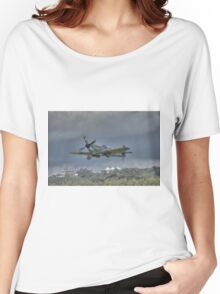 Supermarine Spitfire Mk LF XVIe TE311 Women's Relaxed Fit T-Shirt