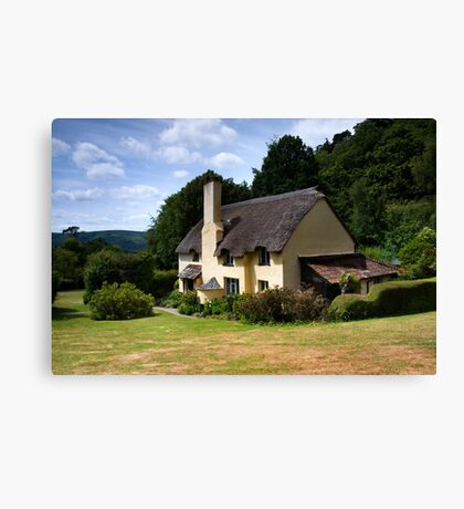 Selworthy Cream Tea Canvas Print