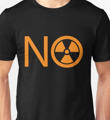 No to Nuclear Power Unisex T-Shirt