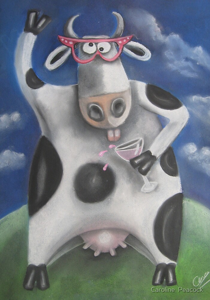 Silly Cow by Caroline  Peacock