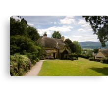 Selworthy Lawn, Exmoor Canvas Print