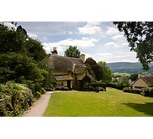Selworthy Lawn, Exmoor Photographic Print