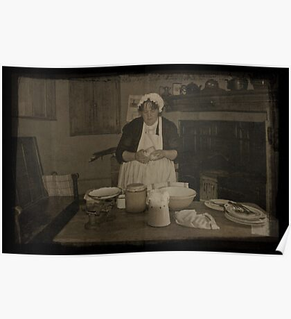 Country Kitchen Poster