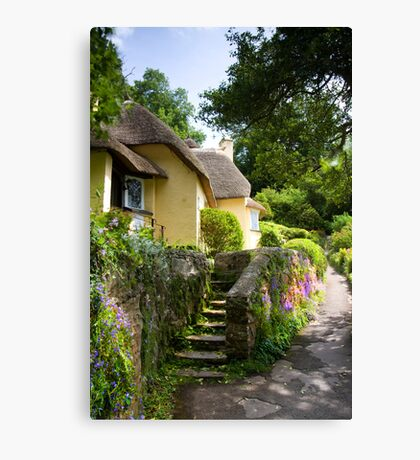 Selworthy Village, Exmoor Canvas Print