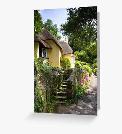 Selworthy Village, Exmoor Greeting Card